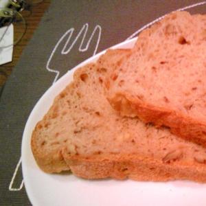 HBで食パン(高野豆腐粉を加えて)