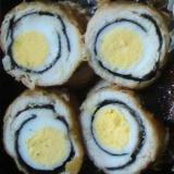 竜眼◎◎うずら卵の鶏包み揚げ
