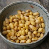 茹で大豆の酢醤油漬け