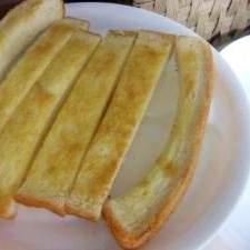 サクふわ美味しい 食パンできな粉スティック♪