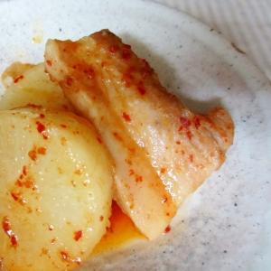 厚切り豚バラと大根のピリ辛煮(圧力鍋)
