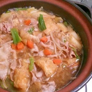 ペロっと、和風 豚キムチ鍋