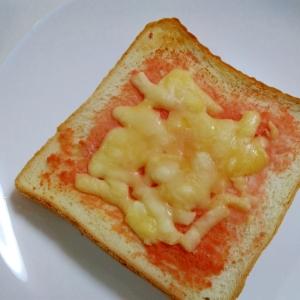 朝食に☆明太子チーズトースト