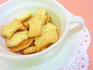 ちょっと大人な紅茶ミニクッキー