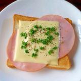 ハムチーズパン