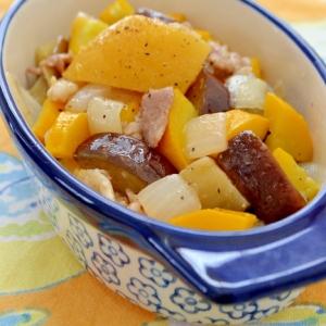 *豚バラ&茄子とズッキーニのレモンソルト味*