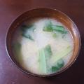 小松菜と大根の味噌汁♪