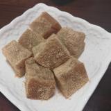 簡単☆黒糖わらび餅