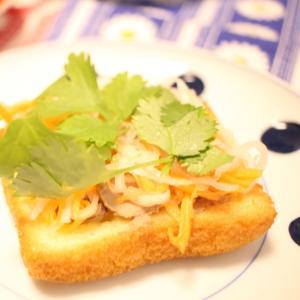 バインミー風トースト