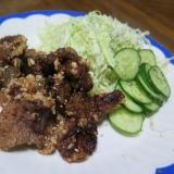 ラム肉(ジンギスカン)の唐揚げ