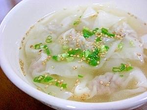 ワンタンスープのレシピ・作り方(人気順)