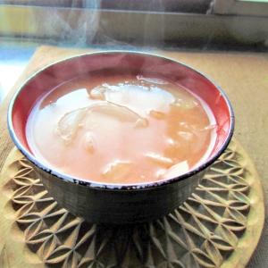 新玉ねぎまるごと味噌スープ
