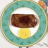 牛もも肉のステーキ~♪
