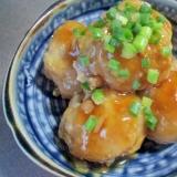 粉豆腐を使った肉団子