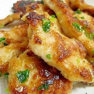 味噌こんがり☆鶏ムネ肉のねぎ味噌焼き