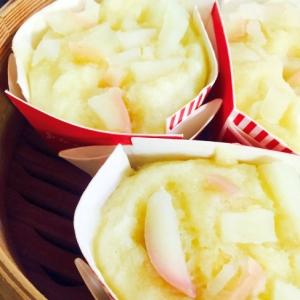 なんちゃって和菓子☆白餡でさっぱりりんご味の浮島