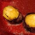 焼き芋のシナモンバターソテー