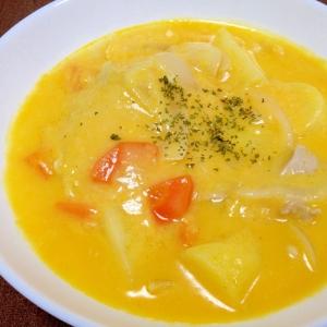 ごろごろ野菜たっぷり☆鶏肉のかぼちゃシチュー