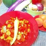 夏野菜でカポナータ・とろっと旨味たっぷり☆