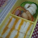 離乳食~カボチャのサンドイッチ~