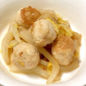 トロットロ♪白菜と鶏団子のくたくた煮