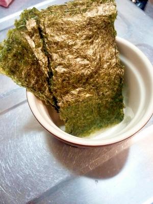 番外編∑(ёロё)いつもの海苔をちょっとおいしく