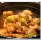 ご飯に合う!鶏もも肉と白ねぎの煮物★