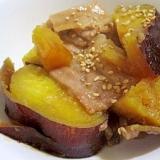 炊飯器でつくる『さつま芋と豚肉の甘辛煮』