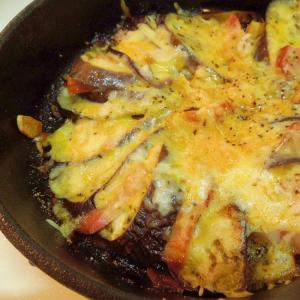 とろーりとろける♪茄子とベーコンのチーズ焼き