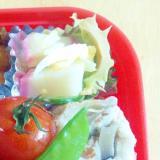 ゴーヤと蒲鉾のからしマヨネーズサラダ