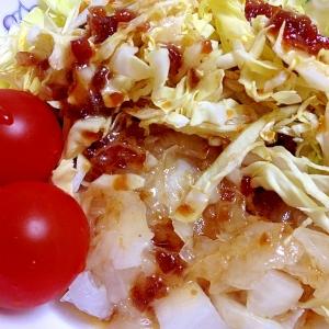 新玉葱と春キャベツのサラダ