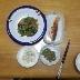 納豆とおくらの和え物