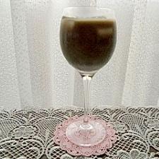 青汁とチョコレートドリンク