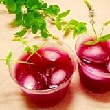 濃厚☆赤紫蘇ジュース