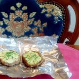 生椎茸のチーズ焼き