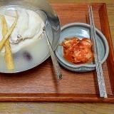 半身で作る☆「参鶏湯(サムゲタン)」