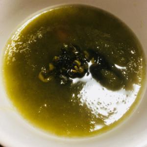 高菜*とろろ昆布*梅干しスープ