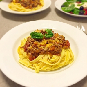 しっかり濃厚♡ 彼も満足のボロネーゼスパゲティ