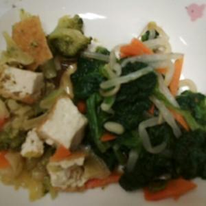 厚揚げ野菜煮