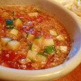 冷やしうどんや素麺に☆クルミとトマトのつけダレ