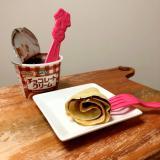 チョコレートクリームのクレープ ♪