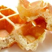 サクサク、もっちり!洋菓子用米粉で作るワッフル