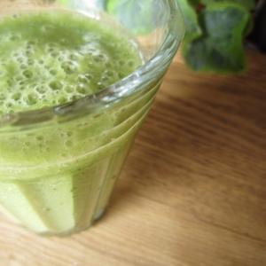 バナナベース♪水菜のグリーンスムージー