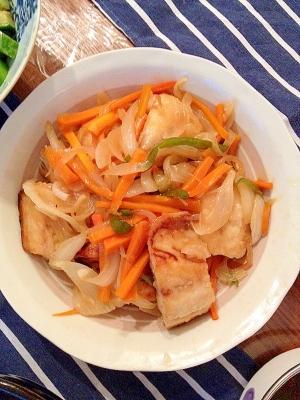 ご飯が進む!野菜たっぷりの塩サバ南蛮