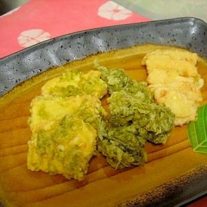 旬の食材★筍と生青海苔の天ぷら 油っぽくないコツも