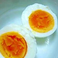 ~エスニック~おかゆのトッピングにぴったりな塩卵