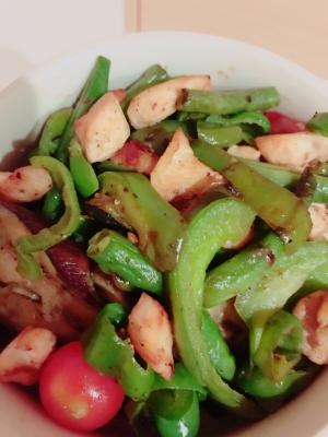 チキンと野菜のグリル