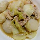 鶏芋みそ鍋