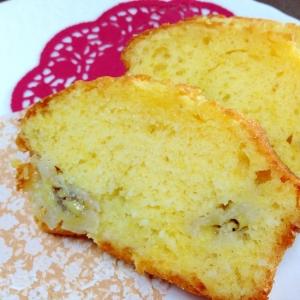 さっくりしっとり☆バナナのパウンドケーキ