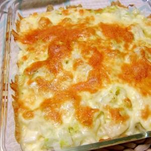 ポテトと白菜のチーズ焼き